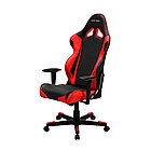 Игровое компьютерное кресло, DX Racer,  OH/RE0/NR, ПУ экокожа, Вид наполнителя: губчатая пена высоко
