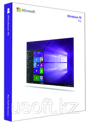 Microsoft Windows 10 Professional, 32-bit/64-bit, Электронный ключ