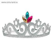 Корона на ободке «Царица», цвета МИКС