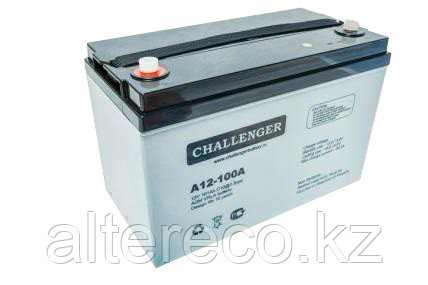 Аккумулятор Challenger A12-100A (12В, 100Ач)