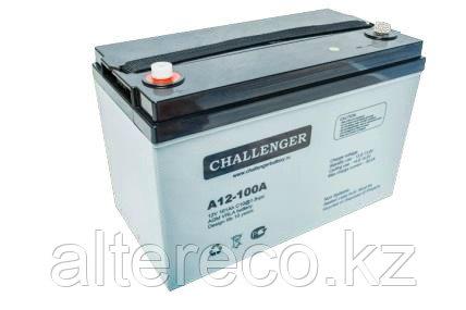Аккумулятор Challenger A12-100A (12В, 100Ач), фото 2