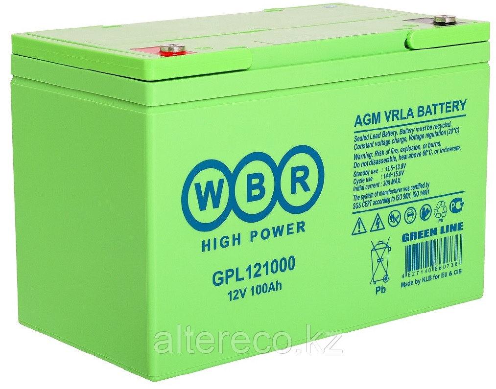 Аккумулятор WBR GPL121000A (12В, 100Ач)