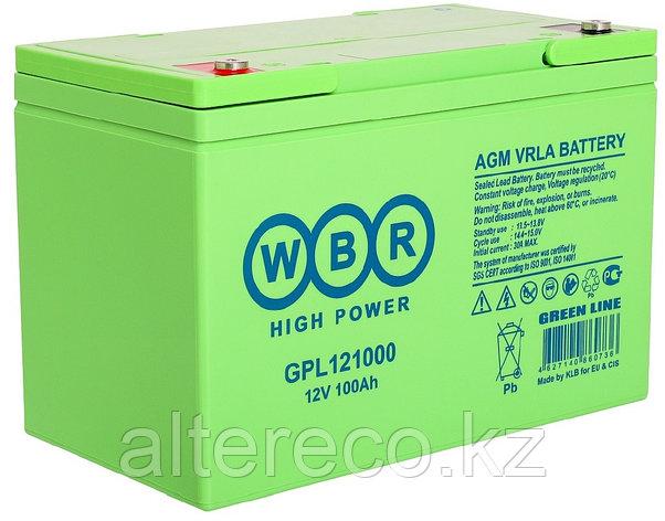 Аккумулятор WBR GPL121000A (12В, 100Ач), фото 2