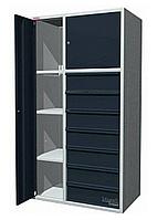 """Шкаф универсальный """"Compact"""" 2 дверцы с 7 ящиков 800х500х1500мм."""