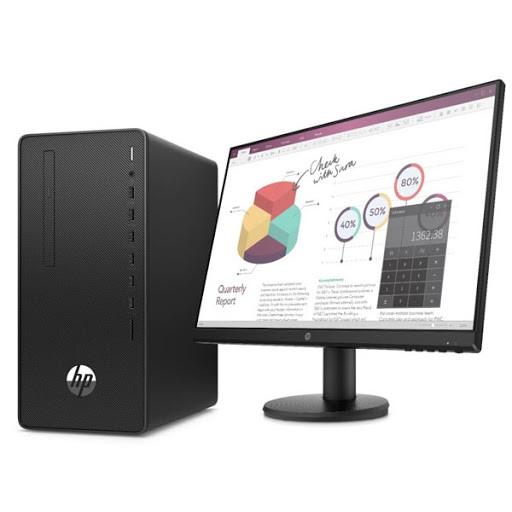 HP 1C7P5ES компьютер HP 290 G4 MT i3-10100 8GB/256GB SSD DVDRW WiFi DOS, монитор P24v в комплекте