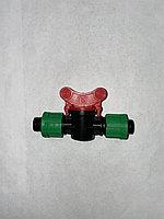 Кран для капельной ленты ∅16-17, фото 1