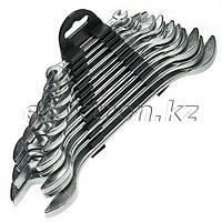 Набор ключей рожковых, 6 х 32 мм, 12 шт., хромированные Sparta 152945