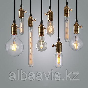 Led лампы светодиодные Эдисона 2-45 ватт,  лампы ретро-стиля, ретро лампы, винтажные лампы, старинные лампы