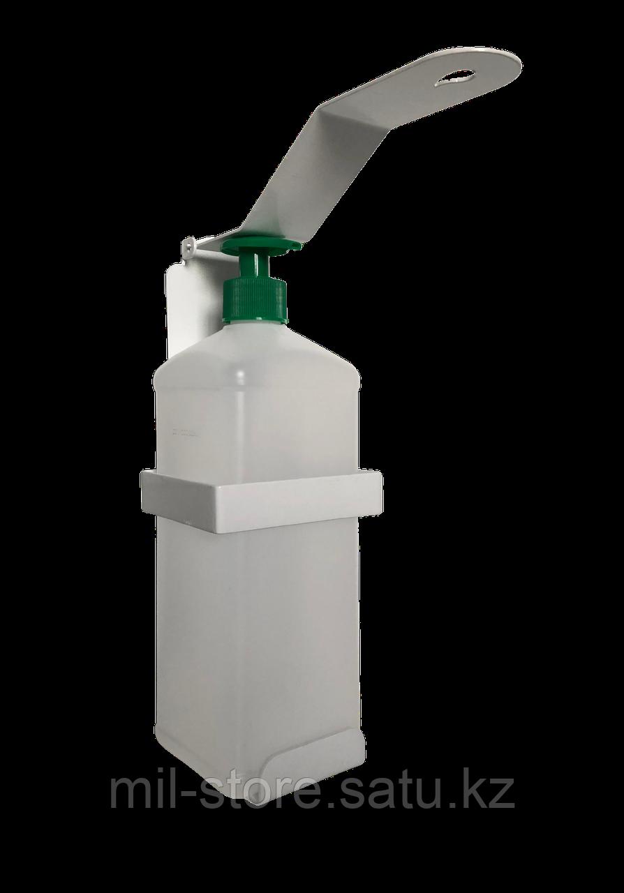 Локтевой дозатор/санитайзер+ пустой флакон объемом 1 литр