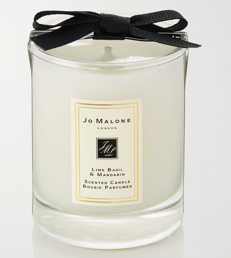 Jo Malone Lime Basil &Mandarin Scented Candle Bougie Parfumee 200гр