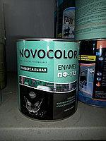 Эмаль ПФ-115 черная 2,6 кг/ ОПТИМА