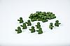 """Комплект деревянных жетонов населения для настольной игры """"Война миров: Новая угроза"""""""