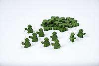 """Комплект деревянных жетонов населения для настольной игры """"Война миров: Новая угроза"""", фото 1"""