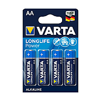 Батарейка VARTA Longlife Power Mignon 1.5V - LR6/ AA 4 шт в блистере
