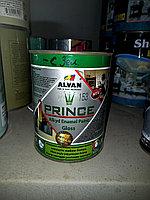 """Краска алкидная глянцевая """"Prince"""" №153 светло-зеленая 0,88 л/ ALVAN"""