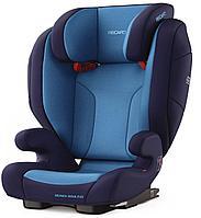 Автокресло Monza Nova Evo SeatFix Xenon Blue 3-12 лет (Recaro, Германия)