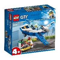 LEGO 60206 City Police Воздушная полиция: патрульный самолет, фото 1