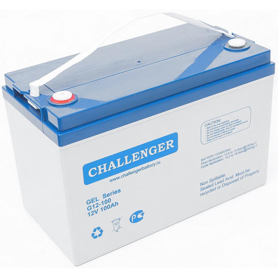 Аккумулятор Challenger G12-100 (12В, 100Ач)