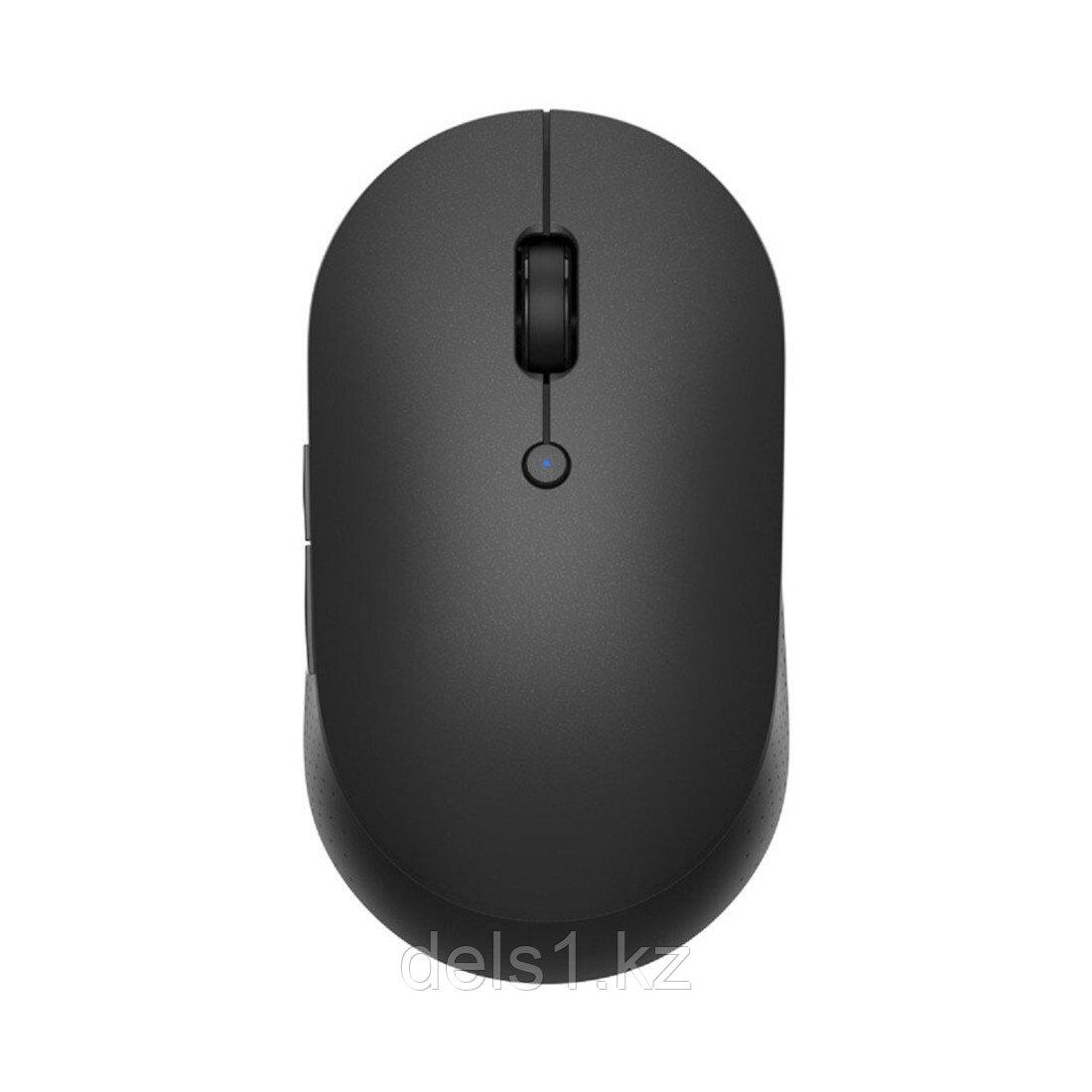 Беспроводная компьютерная мышь Xiaomi Mi Dual Mode Wireless Mouse Silent Edition Черный