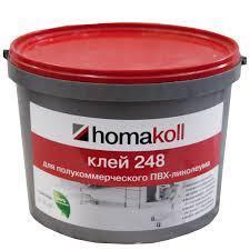 """Клей для полукоммерческого линолеума """"Homakoll 248"""" 14кг"""