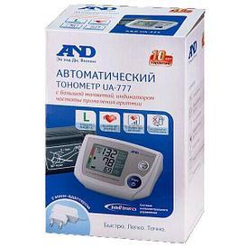 Тонометр AND автоматический UA-777  на плечо L манжета