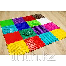 Детский массажный коврик ОРТОДОН, набор Ассорти микс №16 (16 пазлов), фото 3