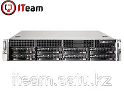 Сервер Supermicro 2U/1xGold 5222 3,8GHz/16Gb/2x1Tb SATA/2x740W