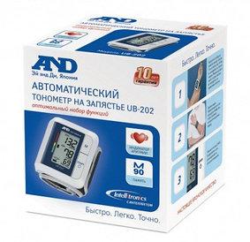 Тонометр AND UB-202 автоматический на запястье