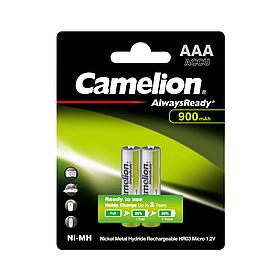 Аккумулятор CAMELION AlwaysReady Rechargeable Ni-MH NH-AAA900ARBP2 2 шт. в блистере