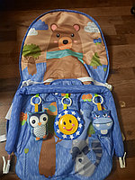Детский шезлонг-качалка iBaby 68129 (аналог Fisher price)