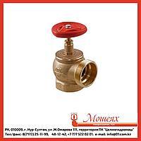 Кран пожарный КПЛМ 65-1 латунный 90° муфта-цапка