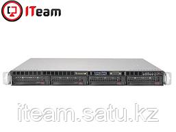 Сервер Supermicro 1U/1xSilver 4208 2,1GHz/32Gb/2x300GB SAS/ 2x1Tb