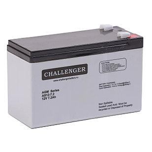 Аккумулятор Challenger AS12-7.2 (12В, 7,2Ач)