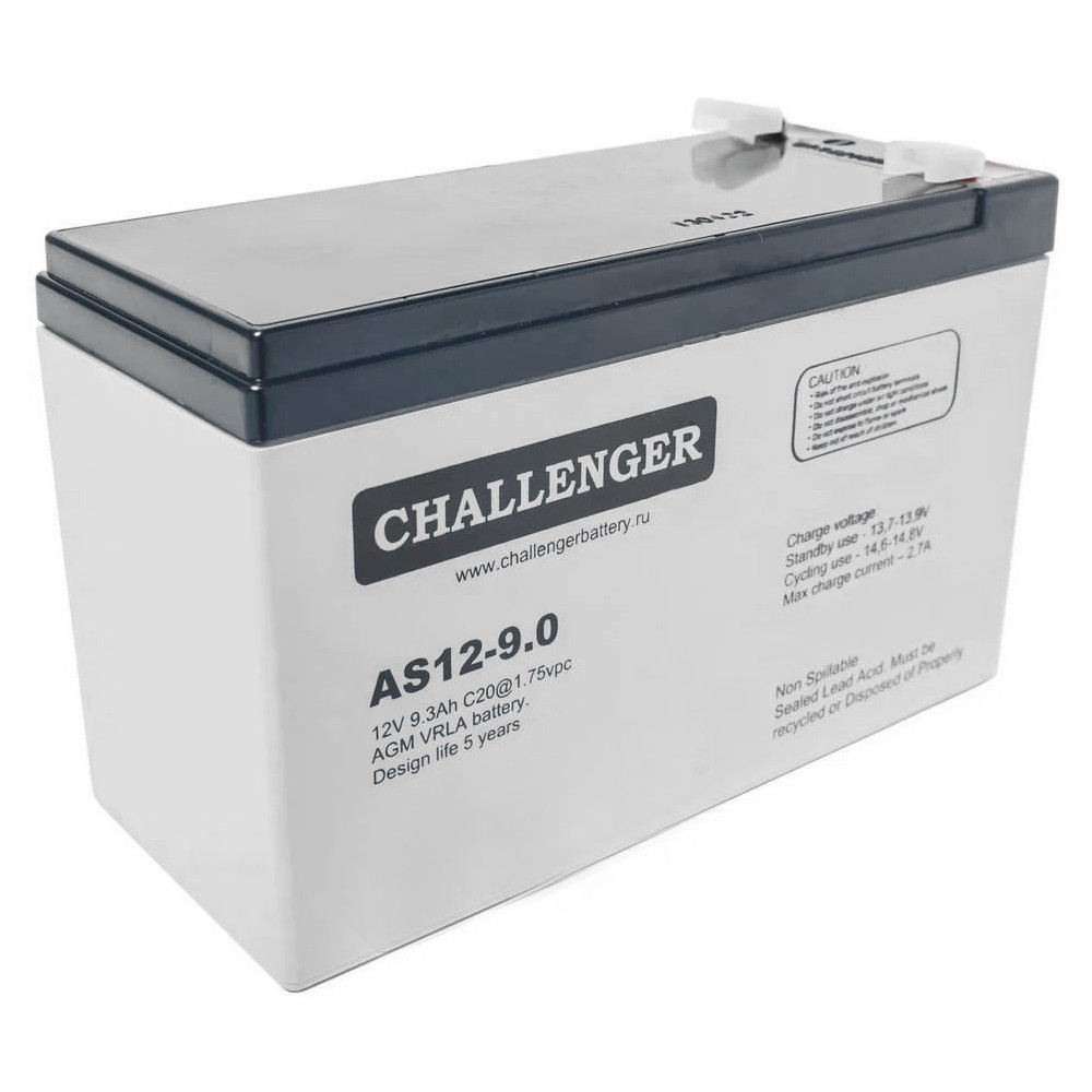 Аккумулятор Challenger AS12-9.0 (12В, 9Ач)