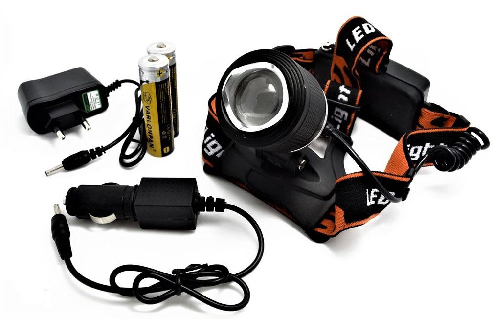 Налобный светодиодный аккумуляторный фонарь Led Headlight MX-33-1-T6