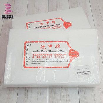 Безворсовые салфетки для маникюра 6×4см. Плотные,белые.700шт