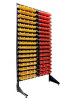 Стеллаж с пластиковыми ящиками 1801-17/0/0 CH-Kombo
