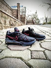 Баскетбольные кроссовки Nike Lebron 17 (XVII) Low  XVII (оригинал)
