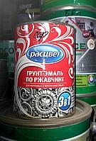 Грунт-эмаль по ржавчине черная 2,7 кг/ РАСЦВЕТ