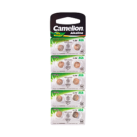 Батарейка CAMELION Alkaline AG6-BP10(0%Hg) 10 шт. в блистере
