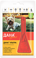 Дана Ультра (для собак и щенков до 5 кг) 1*0, 4 мл