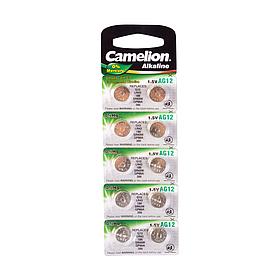 Батарейка CAMELION Alkaline AG12-BP10(0%Hg) 10 шт. в блистере