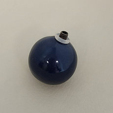 Шарик 2,5 см / синий (для браслета СО) ЕВ21