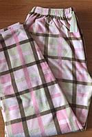 Теплые домашние женские брюки