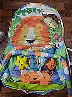 Детский шезлонг-качалка iBaby 432-6 Джунгли