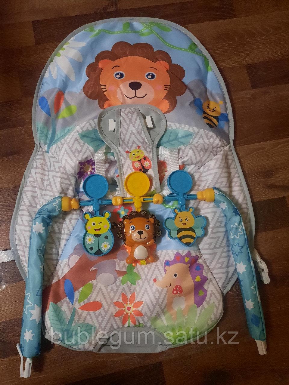 Детский шезлонг-качалка iBaby 68145 Львенок
