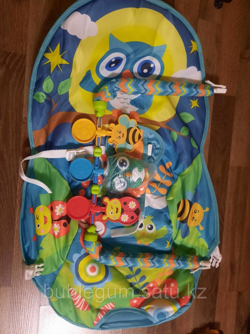 Детский шезлонг-качалка iBaby 68144 Совушка