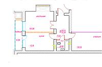2 комнатная квартира ЖК Viva Grand (Вива Гранд) 58.42 м², фото 1