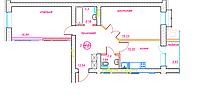 2 комнатная квартира ЖК Viva Grand (Вива Гранд) 63.47 м², фото 1