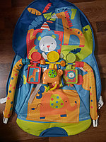 Детский шезлонг-качалка iBaby 68143 Пальмы